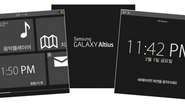 Samsung'un Akıllı Saati Altius'un Ekran Görüntüleri Ortaya Çıktı