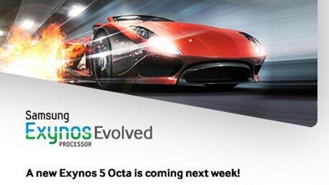 Samsung Exynos 5 Octa işlemcisini Haftaya Yeniliyor