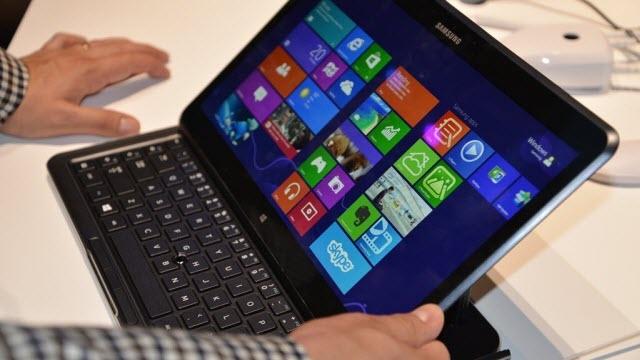 Samsung İki Yeni Windows ATIV Tabletini Tanıttı