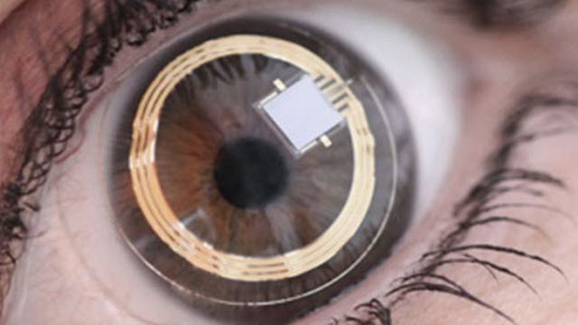 Samsung Kontak Lens Bilgisayar Geliştiriyor