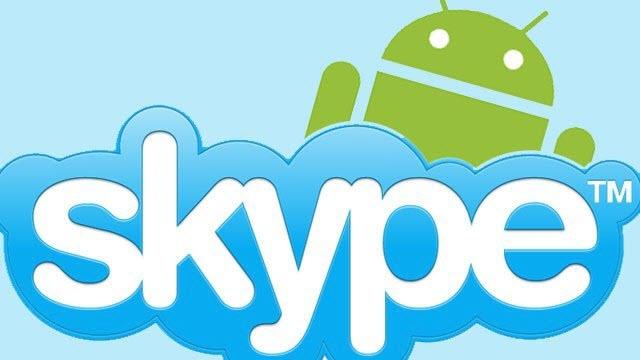 Skype Android Sürümü Artık Materyal Dizayna Sahip