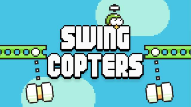 Flappy Bird'ün Yaratıcısı Swing Copters'i Yayınladı