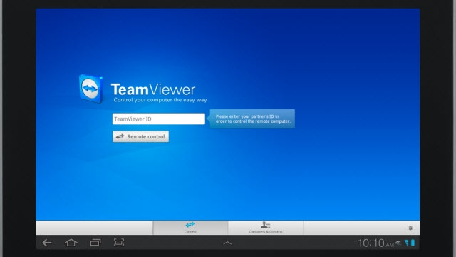 Teamviewer Android ile Bilgisayarınızı Uzaktan Kontrol Etme