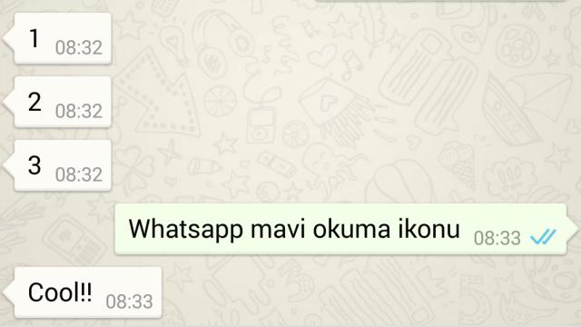 WhatsApp Okunan Mesajları Göstermeye Başladı
