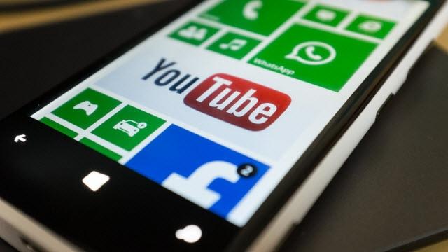 Windows Phone YouTube Uygulaması Yine, Yeni, Yeniden
