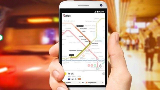 Yandex.Metro Android ve iOS Uygulamaları Yayınlandı