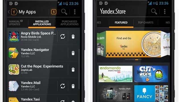 Yandex.Store Android Uygulama Mağazası Yayınlandı