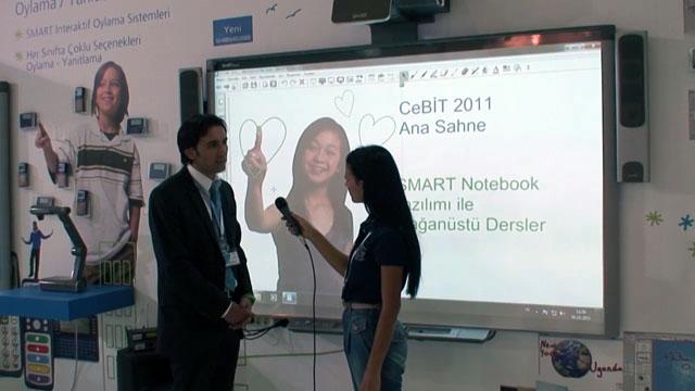 Bilişim Akademi SMART Akıllı Tahtaları - CeBIT 2011