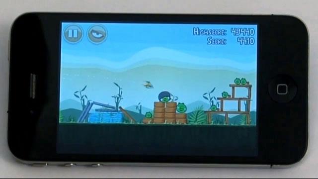 iPhone İçin Angry Birds Oyunu