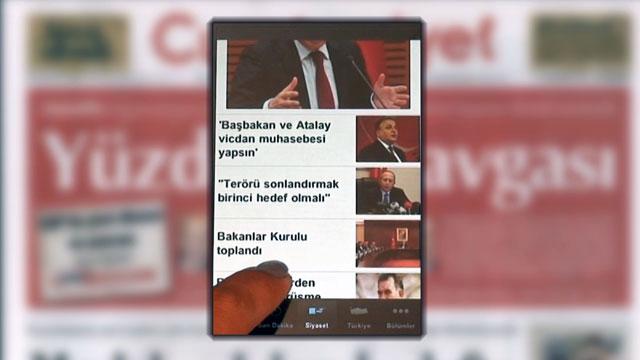 iPhone İçin Cumhuriyet Gazetesi Uygulaması