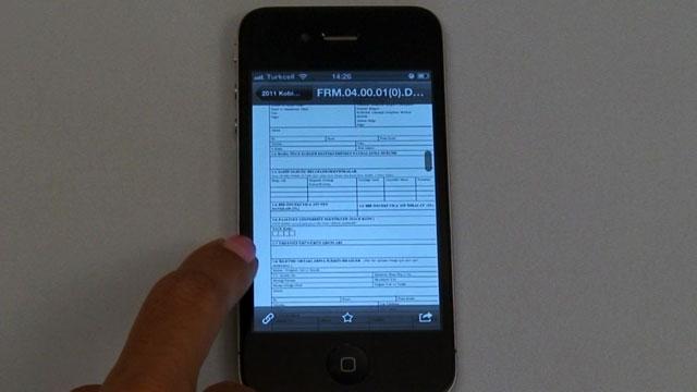 iPhone İçin Dropbox Uygulaması