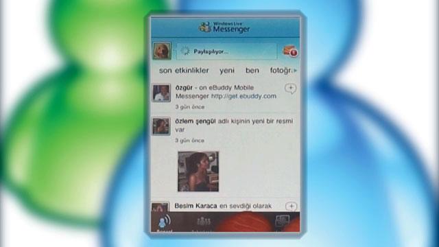 iPhone İçin Windows Live Messenger Uygulaması