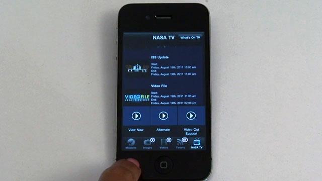 iPhone İçin NASA Upp Uygulaması