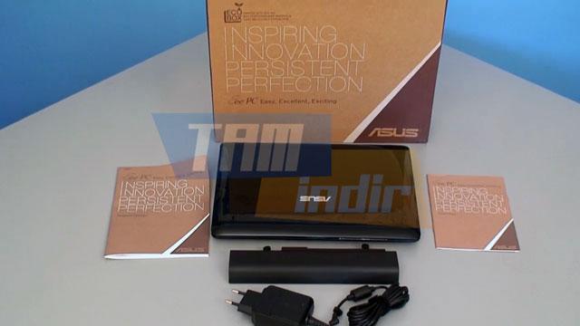 Asus Eee PC Kutu İçeriği