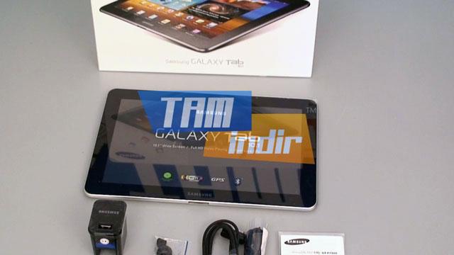 Samsung GALAXY Tab 10.1 Kutu İçeriği