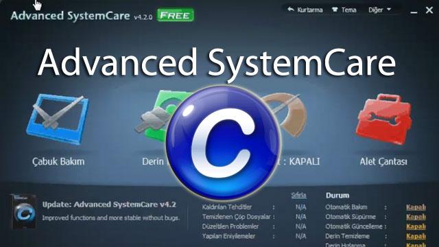 Advanced SystemCare İle Sisteminizi Temizleyin ve Hızlandırın