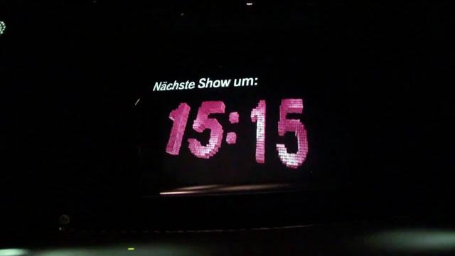 CeBIT 2011- Hannover Hologram Görüntüleri