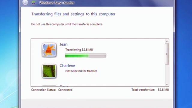 Windows Kolay Aktarım