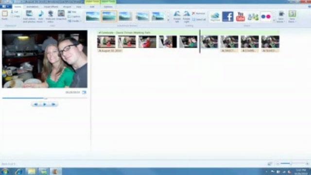 Windows Live Movie Maker İle Fotoğraflardan Film Yapma