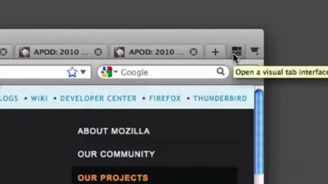 Firefox Panorama