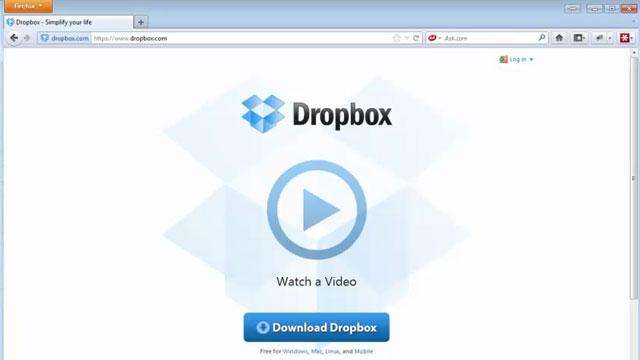 Dropbox Kurulumu ve Program İçi Görüntüleri