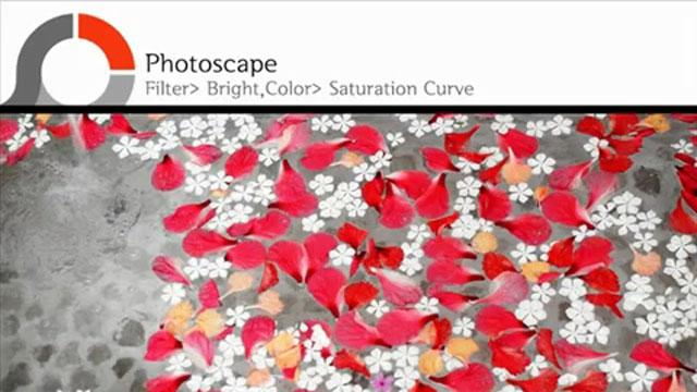 PhotoScape - Doygunluk Eğrisi