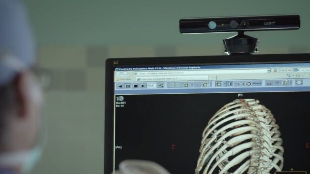 Microsoft Kinect ile Ameliyat