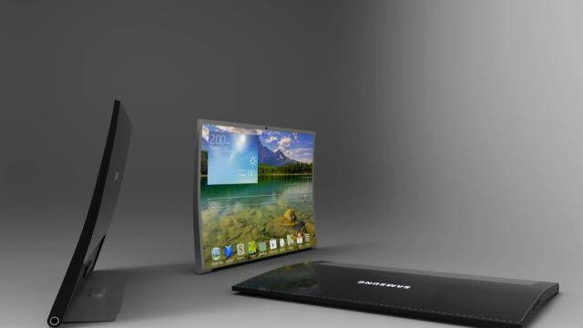 Samsung Galaxy Tab Round Konsepti