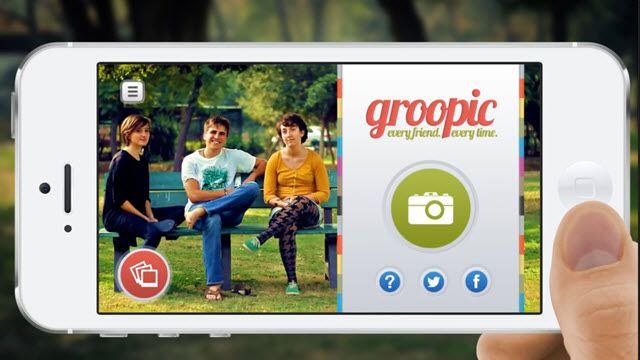 Groopic ile Kimseden Yardım İstemeden Kendi Grup Fotoğraflarınızı Çekebilirsiniz