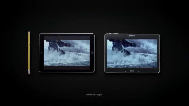 Samsung iPad Air ile Dalga Geçti!
