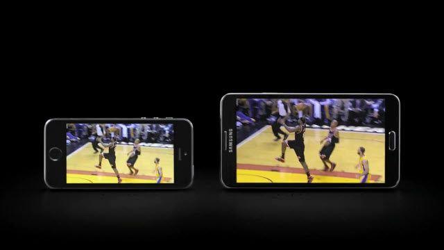 Samsung iPhone ile Dalga Geçti!