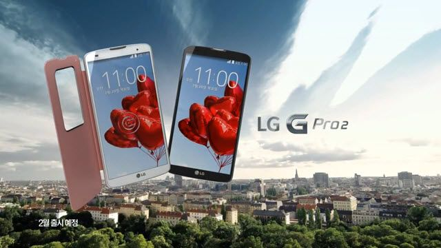 LG G Pro 2 Reklam Videosu