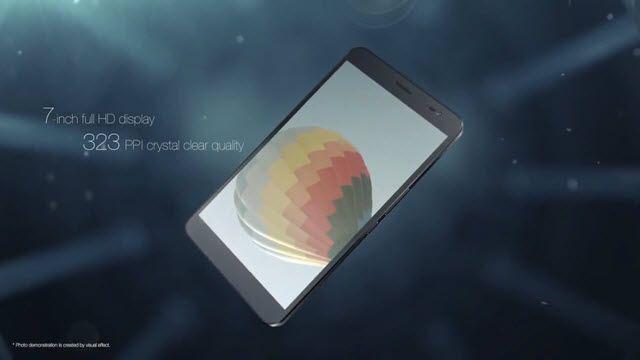 Huawei MediaPad X1 Tanıtım Videosu