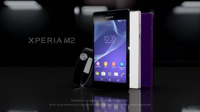 Sony Xperia M2 Tanıtım Videosu