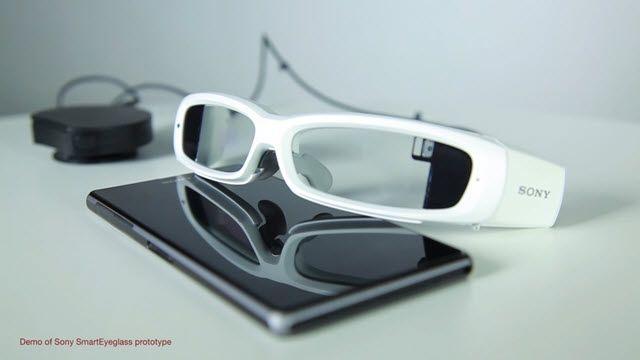 Sony'nin Akıllı Gözlüğü Görüldü