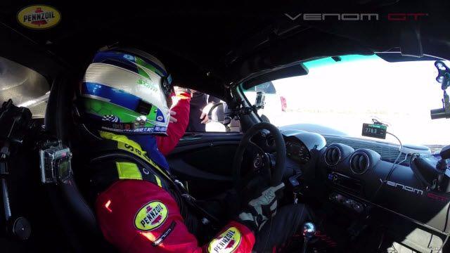 Hennessey Venom GT, Bugatti Veyron'u Geçti