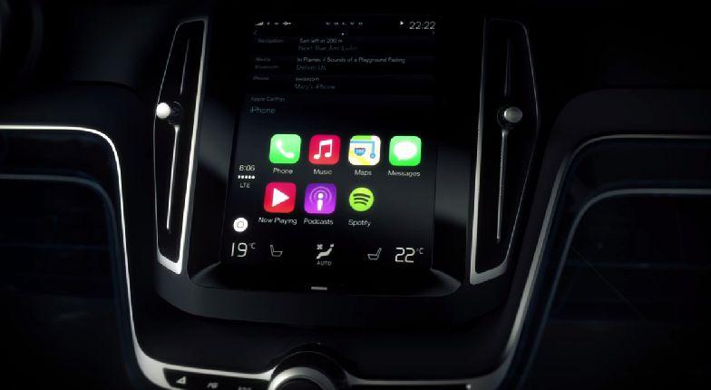 Volvo ve Apple CarPlay