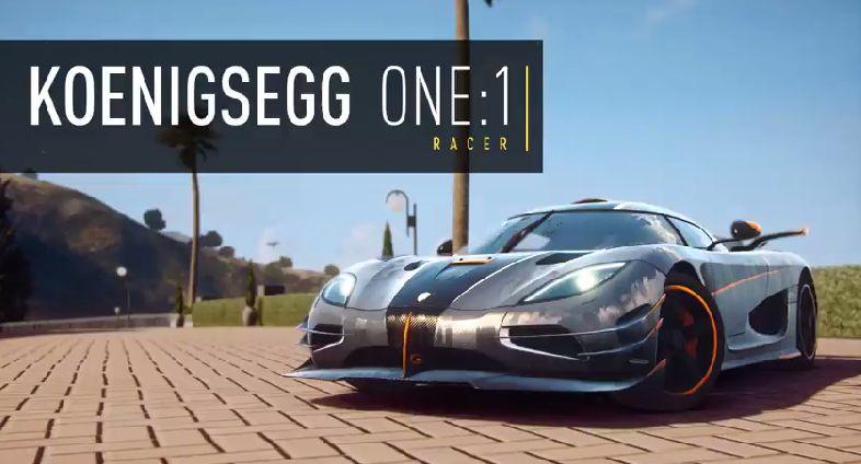 Need for Speed Rivals - Koenigsegg One:1 Oynanış Videosu