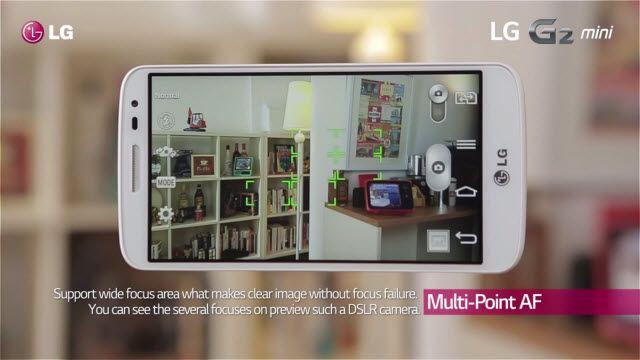 LG G2 Mini Özelliklerine Genel Bir Bakış