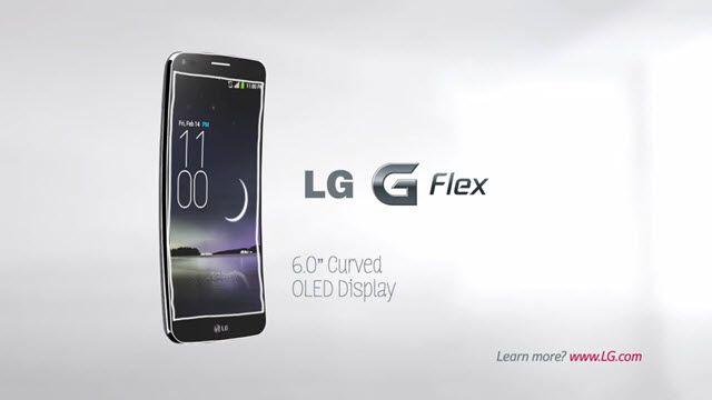 LG'den G Flex için İlginç Reklam Videosu