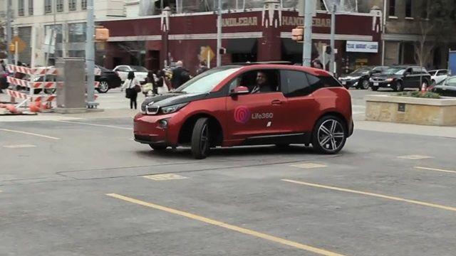 Tamamen Elektrikle Çalışan BMW i3 Test Sürüşü