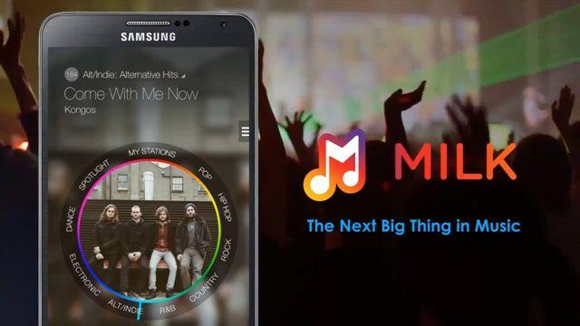 Samsung Milk Music Tanıtım Videosu