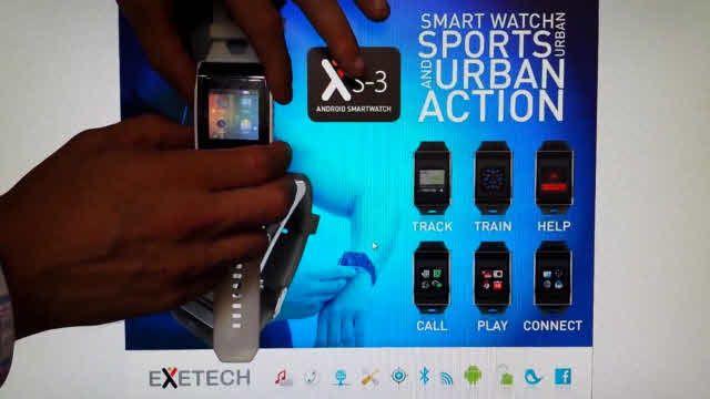 Exetech XS-3 Akıllı Saat Tanıtım Videosu