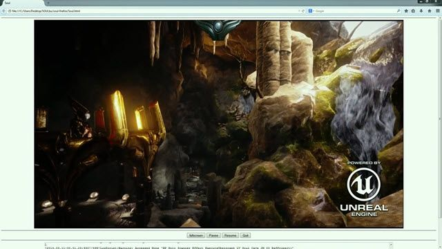 Unreal Engine 4 Firefox'ta