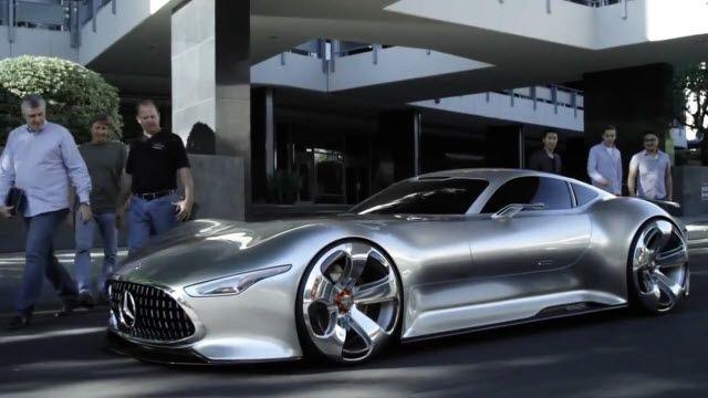 Mercedes-Benz AMG Vision Gran Turismo'ya Yakından Bakış