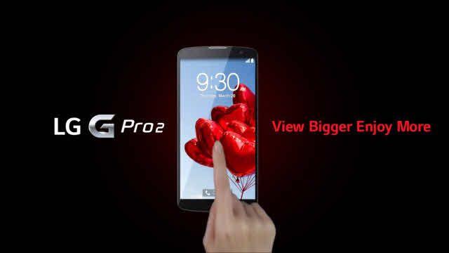 LG G Pro2'nin Dokunmatik Gücü