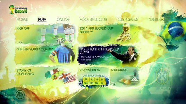 2014 FIFA World Cup Oyun Modları