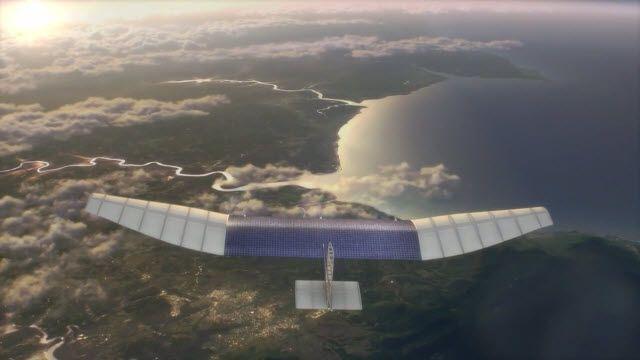Facebook Uçaklarla Dünyaya İnternet Sağlayacak