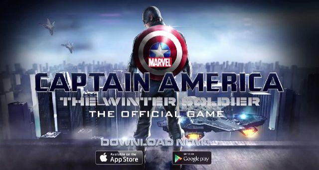 Kaptan Amerika: Kış Askeri iOS ve Android için Yayınlandı