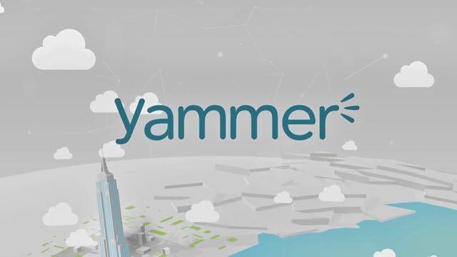 Yammer Tanıtım Videosu